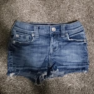 3T Toddler 7 For All Mankind Jean Shorts